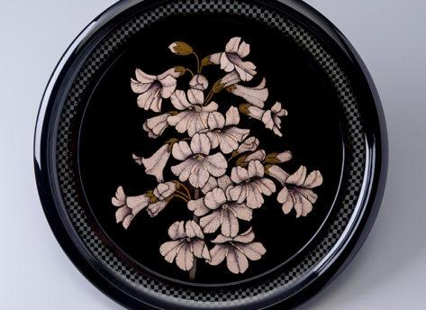 蒟醤盆「桐の花」きんまぼん きりのはな